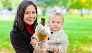 When can babies have ice cream?